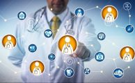 unrecognizable-clinical-leader-consulting-other-physicians-via-clinician-to-clinician-network-healthcare-medical-concept-122136445